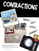 Grammar Task Card Center – Task Pics - Contractions