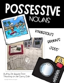 Grammar Task Card Center – Task Pics - Possessive Nouns