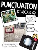 Grammar Task Card Center – Task Pics - Punctuation - Dialogue