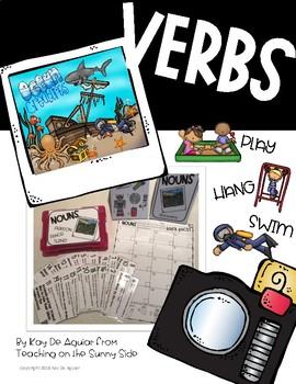 Grammar Task Card Center – Task Pics - Verbs