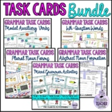 Grammar Task Cards Bundle: Nouns, Verbs, Question words, M