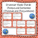 Grammar Task Cards Compound Sentences