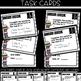 Grammar Task Cards - IRREGULAR PLURAL NOUNS {y to ies, f t