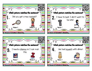 Grammar Task Cards: Multiple Meaning Words Set 2
