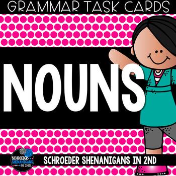 Grammar Task Cards - Nouns