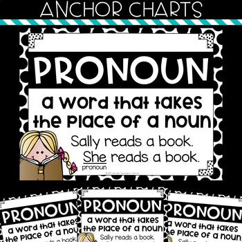 Grammar Task Cards - PRONOUNS