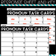Grammar Task Cards - PRONOUNS