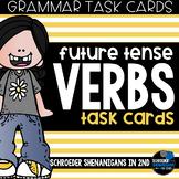 Grammar Task Cards - Future Tense Verbs