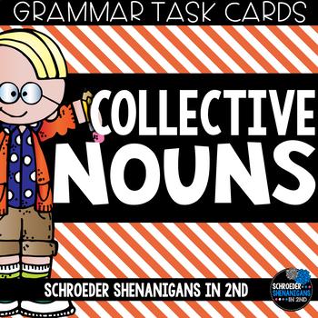 Grammar Task Cards - Collective Nouns