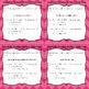 Grammar Task Cards Simple Sentences