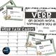 Grammar Task Cards - VERBS *GROWING* BUNDLE
