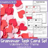 Valentine's Day Grammar Task Cards