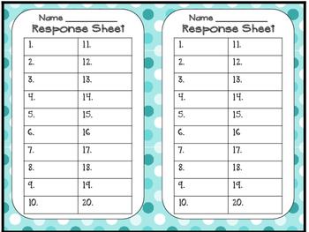 Grammar Task Cards Verbs  am, is, are, were, was