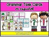 Grammar Task Cards in Spanish