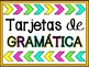 Grammar Task Cards in Spanish