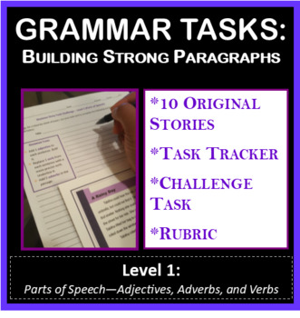 Grammar Tasks - Building Strong Paragraphs (Level 1)