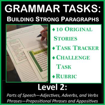 Grammar Tasks - Building Strong Paragraphs (Level 2)