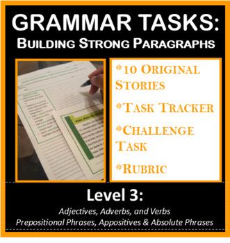 Grammar Tasks - Building Strong Paragraphs (Level 3)