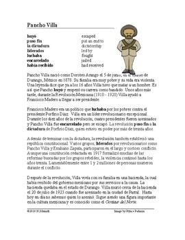 Pancho Villa Biografía - Mexican Revolution Reading and Biography