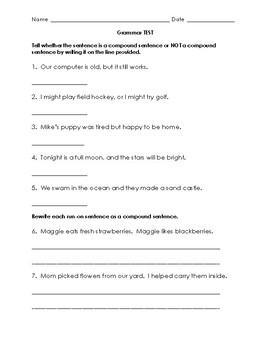 Grammar Test ~ Nouns