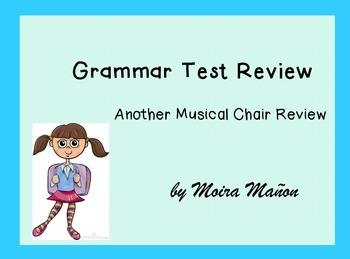 Grammar Test Review