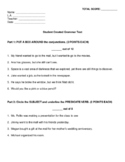 Grammar Test: Simple, Compound, Complex, and Compound-Comp