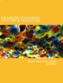 Grammar Test Tips & Strategies: Grade 10 Teacher Edition