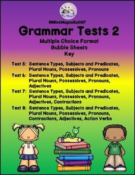 Grammar Tests Set 2