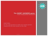 Grammar: The Short Answer Game-Practice asking questions w