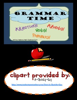 Grammar Time! {Sung to the tune, Can't Touch This!}