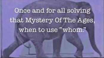Grammar Tip: Who vs Whom