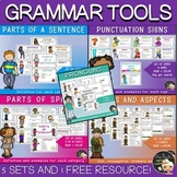 Grammar Review Packet - Grammar Concepts Cards and Posters