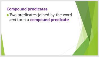 Grammar Unit 1 Week 4 Days 1-3 Predicates and Fragments