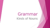 Grammar Unit 2 Week 1 Day 2 Review Types of Nouns