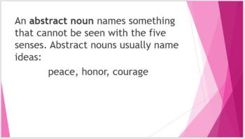 Grammar Unit 2 Week 1 Days 1-3 PACK Types of Nouns