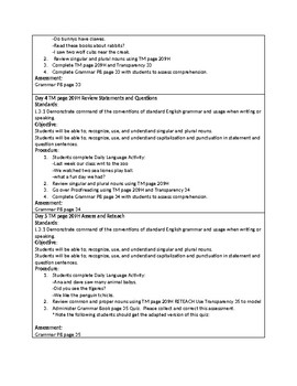 Grammar Unit 2 Week 2