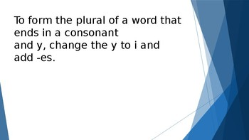 Grammar Unit 2 Week 2 Day 2 Singular and Plural Nouns Review