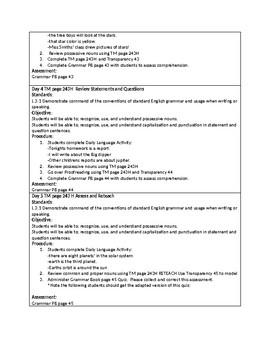 Grammar Unit 2 Week 4