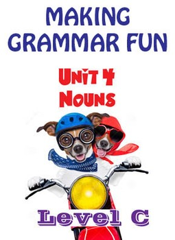 Grammar Unit 4 - Nouns (Level C) ** Complete Unit w/ Test, Quiz, Key **