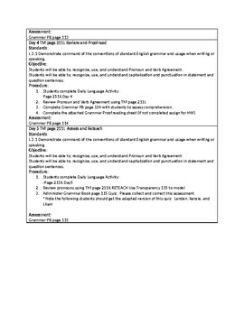 Grammar Unit 5 Week 3