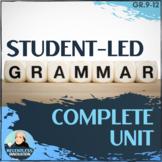 ⭐High School Grammar Unit  25+ Relevant Topics Research Pr