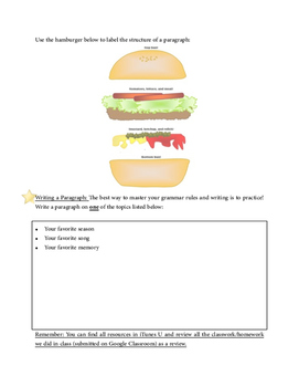 Grammar Unit Study Guide