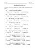 Grammar Unit Test Study Guide