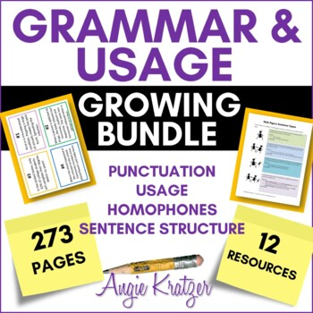 Grammar & Usage Growing BUNDLE