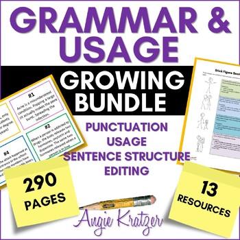 Grammar & Usage Growing BUNDLE