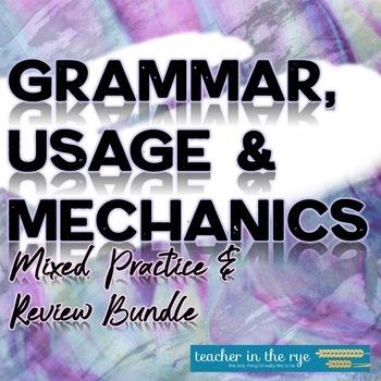 Grammar & Usage Bundle for Grades 7-12--Help Improve Student Writing!