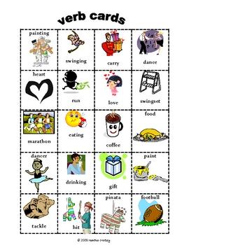 Grammar: Verb Sort K-1st