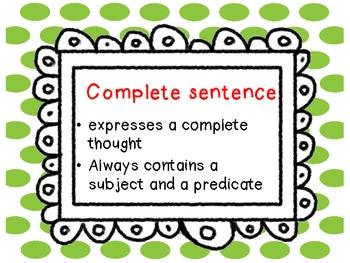 Grammar Vocabulary