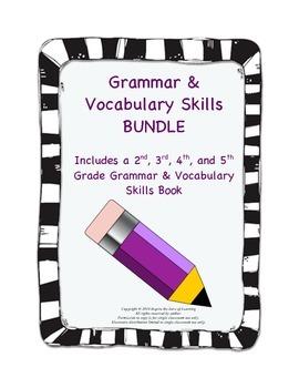 Common Core Grammar & Vocabulary Bundle (2nd-5th Grade Books)