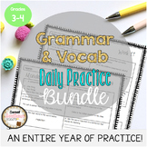 Grammar & Vocabulary Daily Practice MEGA BUNDLE Weeks 1-32